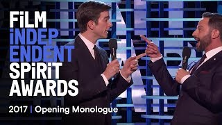 Nick Kroll & John Mulaney's Opening Monologue at the 2017 Film Independent Spirit Awards