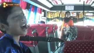 Download Lagu Pengamen Jalanan Suara Merdu  Farizal nyanyi lagu religi di Bus Bikin Hati Adem Gratis STAFABAND