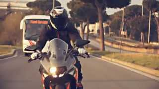KTM RC 125 action video