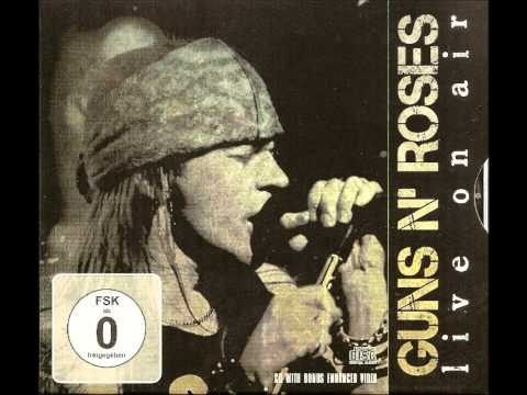 Guns N' Roses- Welcome to the jungle (Live on Air) [High Quality]