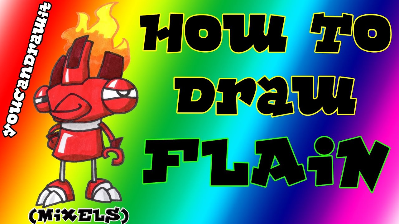 How To Draw Flai...V Coloring Page