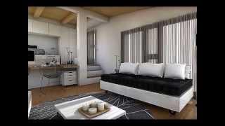 Mini piso 20 m2 decorar tu casa es for Decorar piso 56 m2