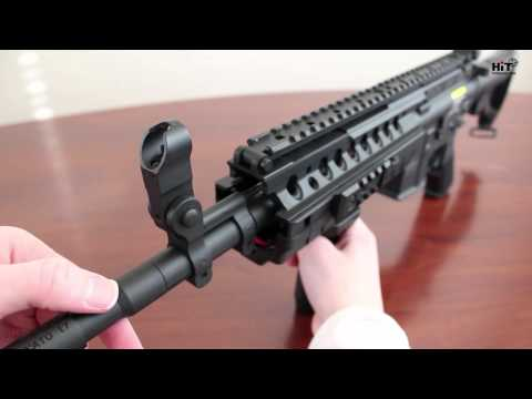 Hitguns.com Airsoft Review - Lancer Tactical M4 System - First Look