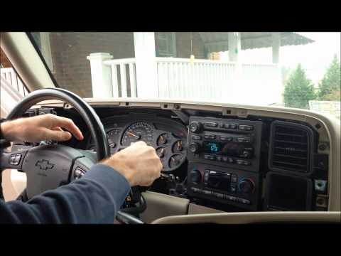 How to Remove the Instrument Cluster from a 2004 Tahoe