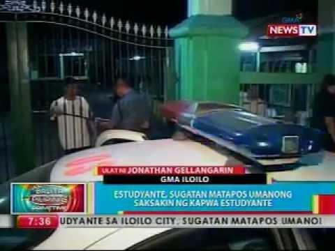 0 - News: BP: Estudyante, sugatan matapos umanong saksakin ng kapwa estudyante - Philippine Daily News