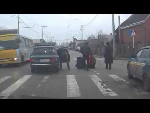 Пешеходный переход_Сбитые пешеходы_18+