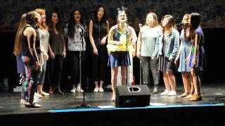 "Brandeis University's Up the Octave Sings ""All this and Heaven Too"" a Capella Cover"