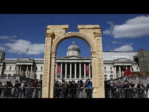 Palmira'nın zafer kemeri Londra'da