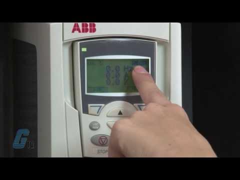 ABB ACS550 AC Drive Basic Startup
