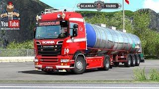 [ETS2 v1.31] Scania RJL Hartmann Highline Pack