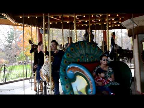 Family Carousel Ride at Denver Zoo Free Day