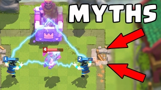 Top 10 Mythbusters in Clash Royale   Myths 2017