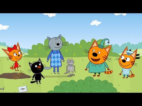 Три кота | Робокот Компота | Серия 124 | Мультфильмы для детей