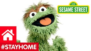 Video: Oscar says '#StayHome' in Lockdown drive - Sesame Street