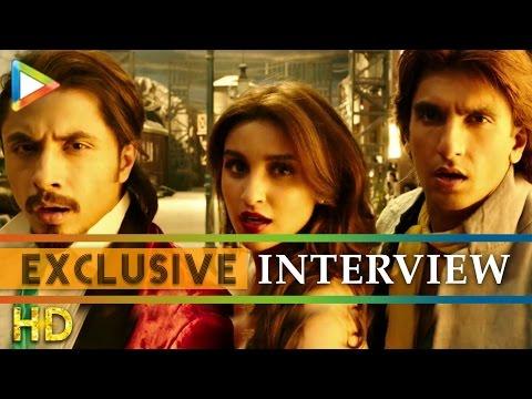 Ranveer Singh Parineeti Chopra Ali Zafar exclusive Interview On Kill Dil Part 1