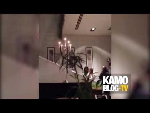 Կիմ Քարդաշյանը Provence ռեստորանում / Kim Kardashian in Provence restaurant Yerevan, Armenia