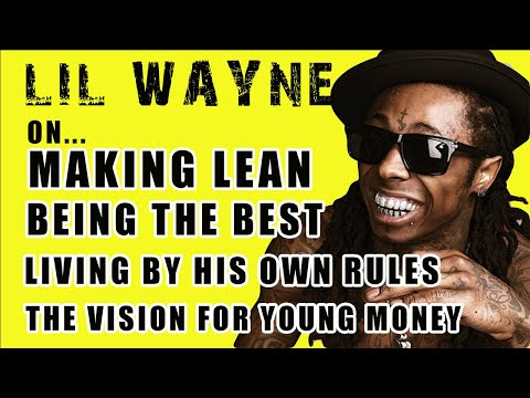 Lil Wayne Shows You How To Make Lean! & Why He's The Future