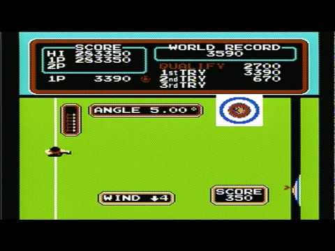 Track & Field High Score 2,238,800 points Rounds 1-3 Nintendo Nes