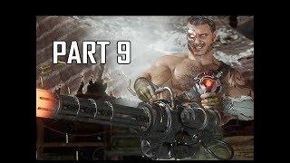 MORTAL KOMBAT 11 Walkthrough Part 9 - Sonya Blade (MK11 Story Let's Play Commentary)