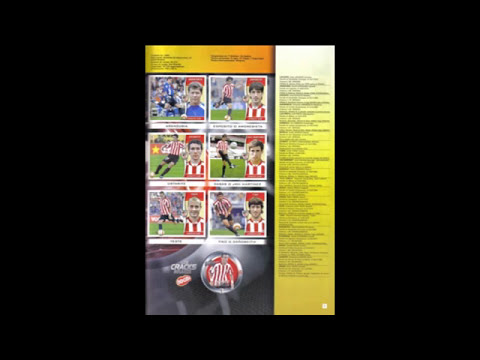 ALBUMES DE CROMOS ATHLETIC CLUB