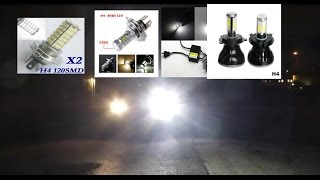 Car LED, review, test and comparison, winter 2015/16