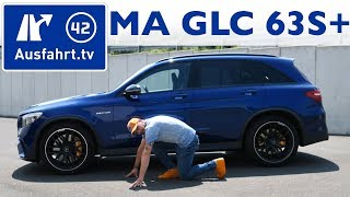 2018 Mercedes-AMG GLC 63S 4MATIC+ (X253) - Kaufberatung, Test, Review / Mercedes-Benz GLC
