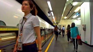 親子遊宜蘭行台灣高鐵到達台北站 Taiwan High Speed Rail (Taiwan)