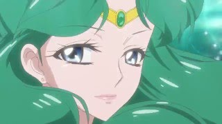 Sailor Uranus and Neptune Henshin - Sailor Moon Crystal season 3