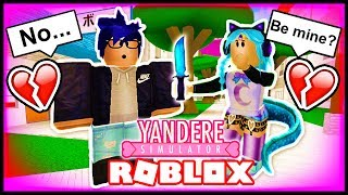 SENPAI REJECTED ME FOR OSANA! I HAVE TO KILL HER! | ROBLOX Yandere High School | Roblox Roleplay