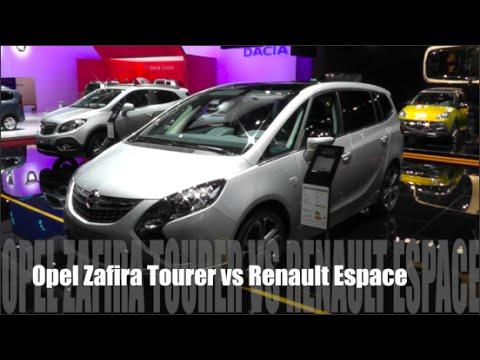 Opel Zafira Tourer 2015 Opel Zafira Tourer 2015 vs