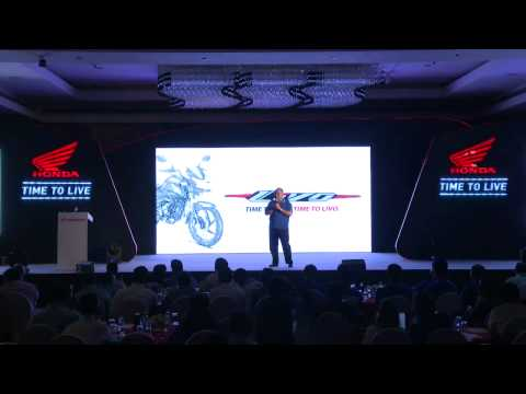 Honda Launch Webcast
