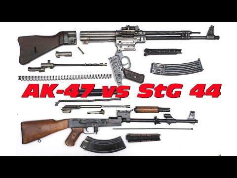 Сравнение «Штурмгевера» (MP43/StG 44) и автомата Калашникова (АК-47)