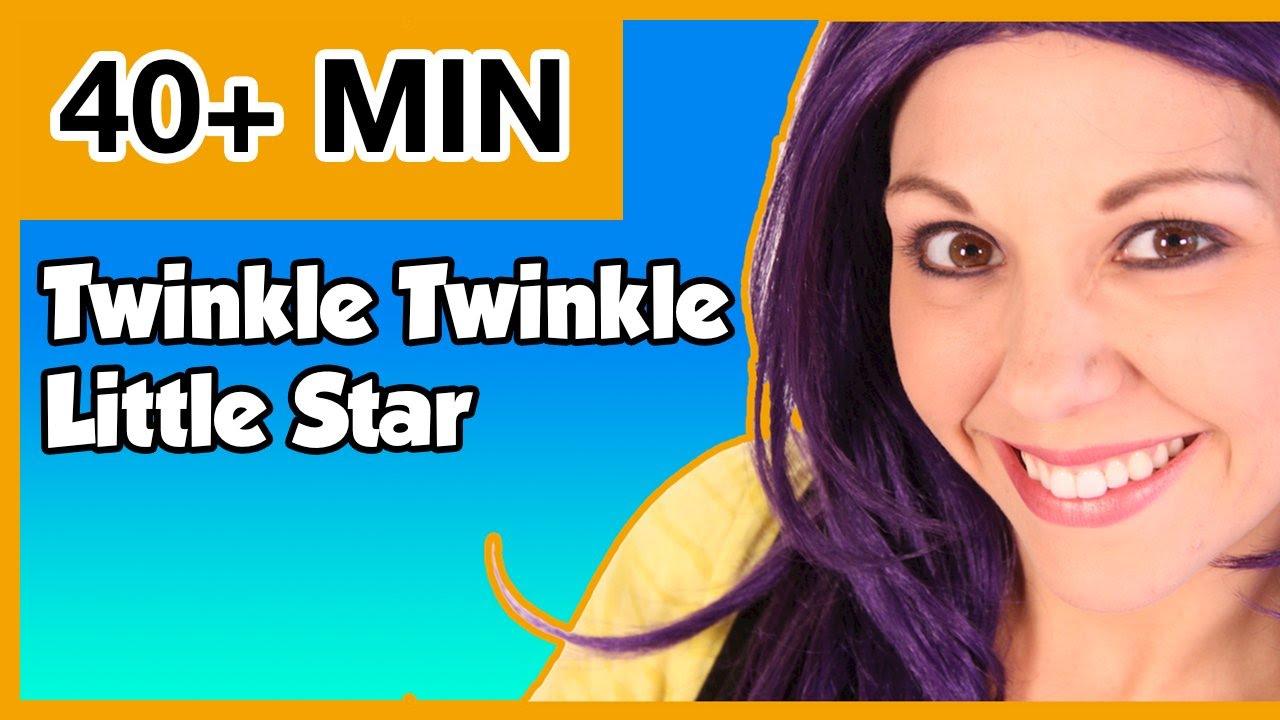 Twinkle Twinkle Little Star and More Kid Songs | Popular Nur...