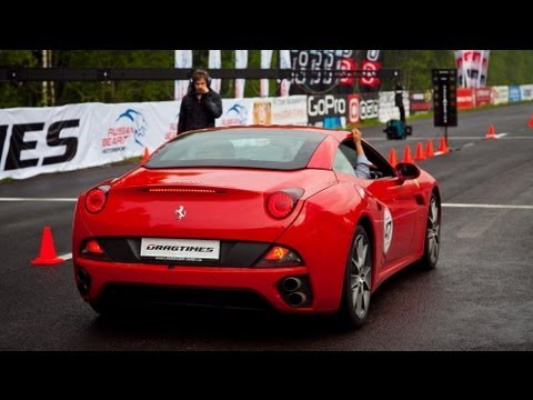 Ferrari California vs Bentley Continental GT; Chrysler 300C SRT-8 vs Jeep SRT-8 vs Nissan GT-R