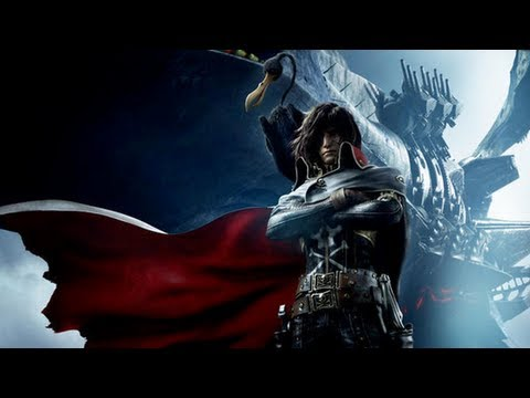 Captain Harlock Movie Trailer Subbed 『キャプテン・ハーロック』