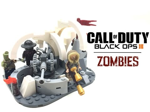 LEGO Call Of Duty: Black Ops III Zombies DLC Map MOC! (#36)