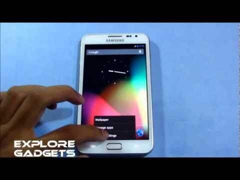 Official CyanogenMod 10 (Android 4.1.2) - How to install : Galaxy Note GT-N7000