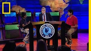Can You Answer the 2016 Geography Bee's Winning Question?