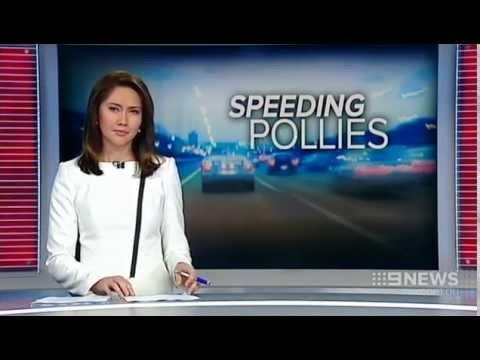 Speeding Pollies | 9 News Perth