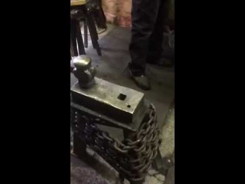 Forge Welding with Iron Mountain Flux by Brian Brazeal