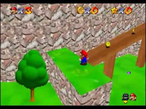 Playing - Super Mario: Star Road [SM64 Hack, Blind] - Part 1 - Them cheeky Bob-ombs.