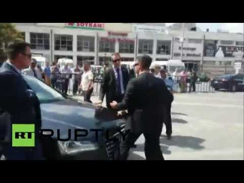 Turkey: PM's bodyguards scuffle with opposition leader's security detail