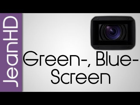 Greenscreen. Bluescreen - Chroma Keying- Sony Vegas Tutorial