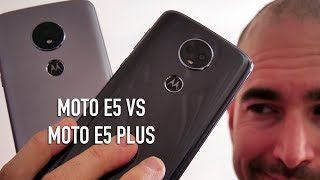 Moto E5 vs Moto E5 Plus Comparison | Budget Motorola versus