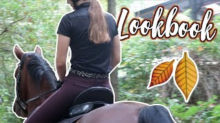 HORSE LOOKBOOK FALL! 🐴👚🍁