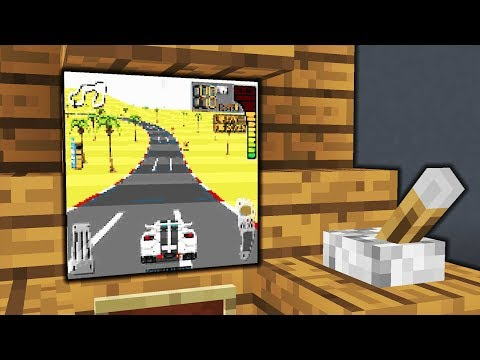 Minecraft - How To Make A Working Car Game   Arcade   Tutorial