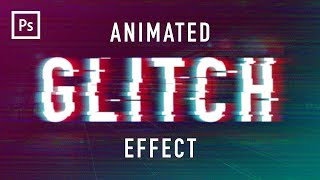 Photoshop Tutorials - Glitch Animation