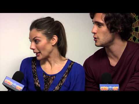 "Diego Boneta & Sarah Habel ""Underemployed"" Interview"