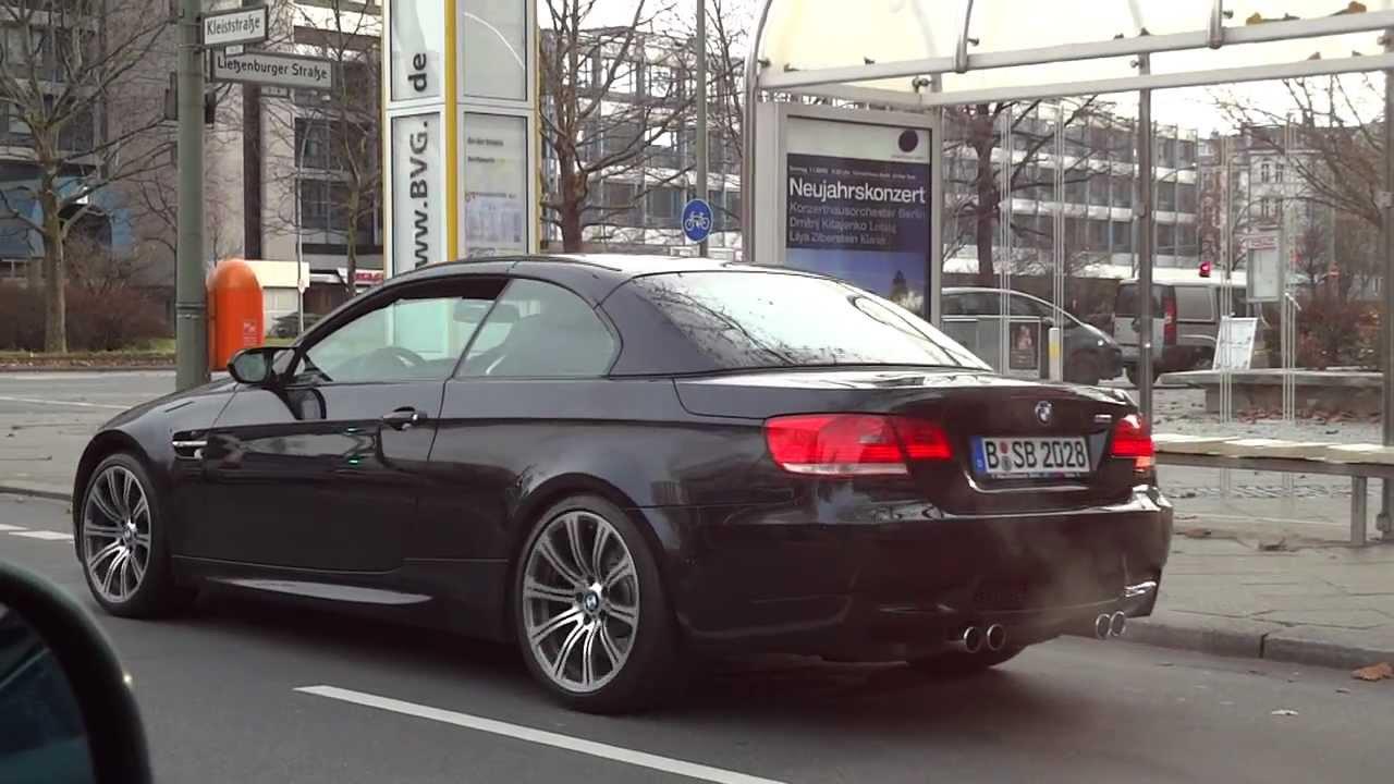 Bmw M3 Cabrio E93 E92 - V8 420 Hp Ps Black