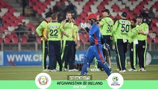 Highlights Afghanistan vs Ireland | 3rd T20 | Afghanistan vs Ireland in India 2019